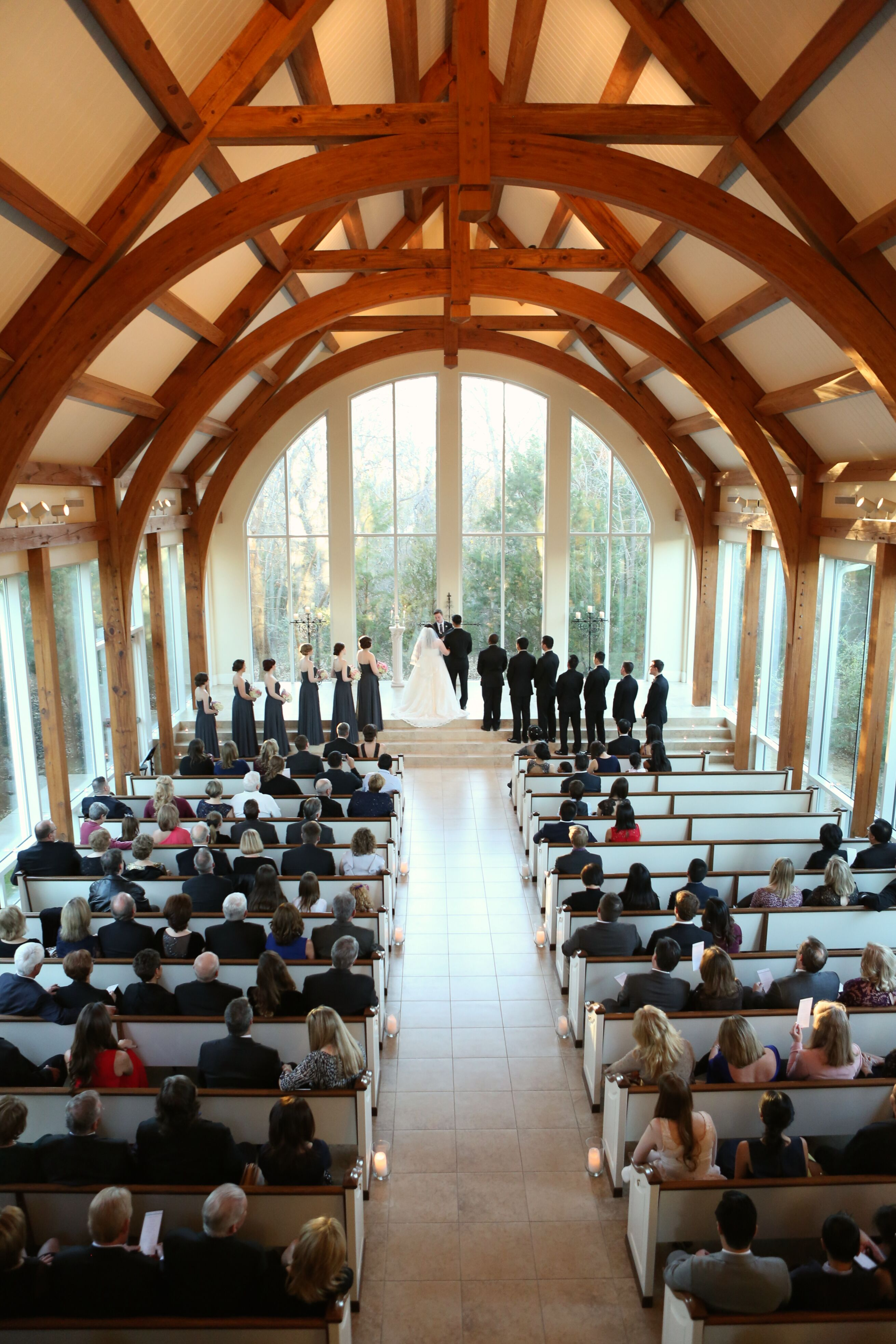 Chapel Ceremony at Ashton Gardens in Corinth, Texas Ashton Gardens Corinth