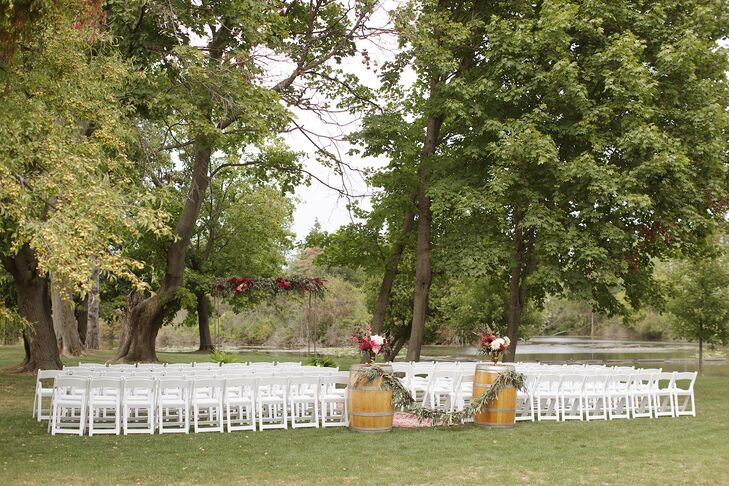 Outdoor Gervasi Vineyard Ceremony