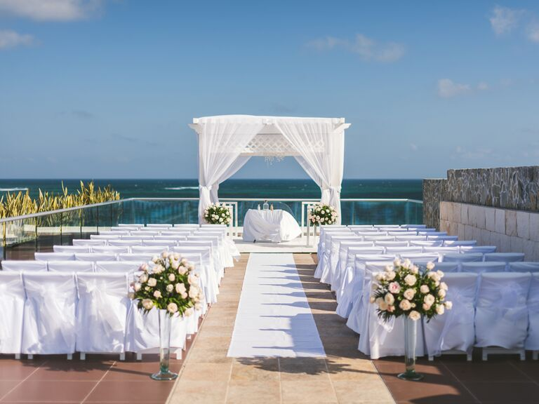 Waterfront destination wedding venue