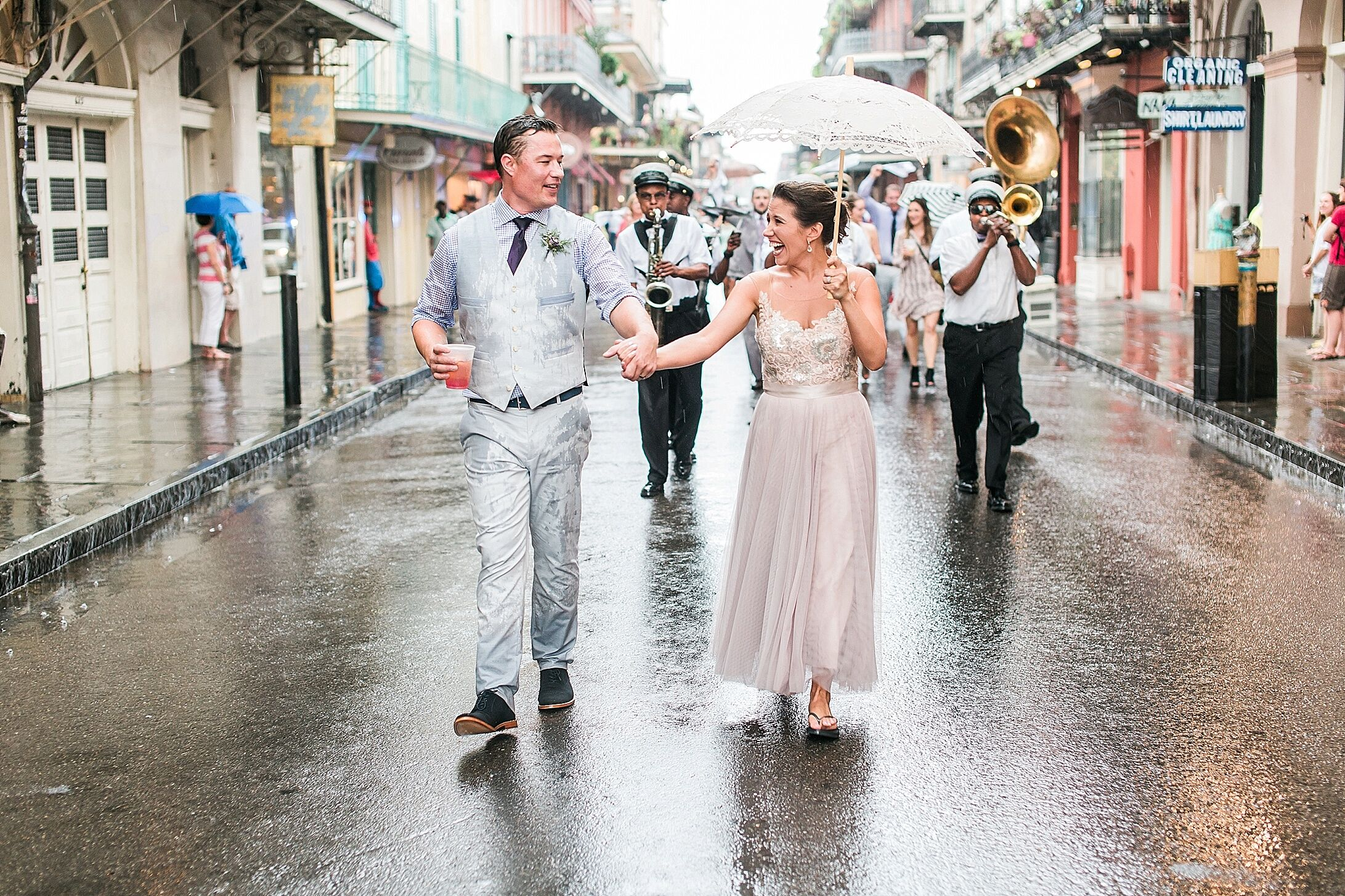An Intimate, Vintage Wedding At Muriel's Jackson Square