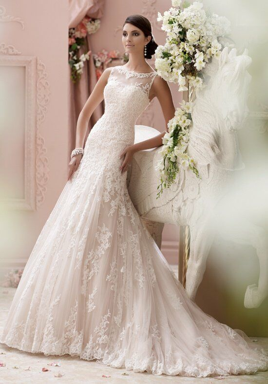 David Tutera for Mon Cheri 115234 Locklyn Wedding Dress photo
