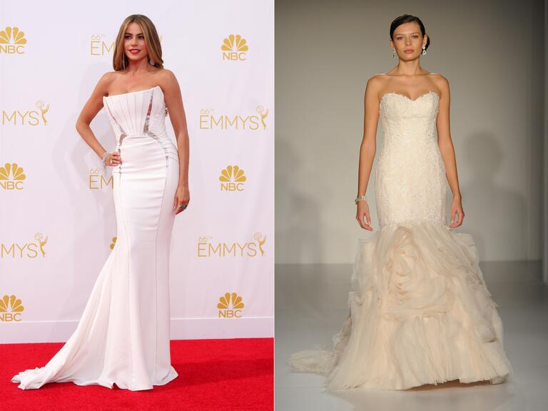 Celebrity wedding dress predictions for 2015