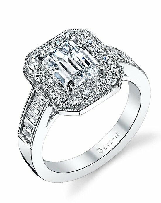 Sylvie Collection S1114 Engagement Ring photo