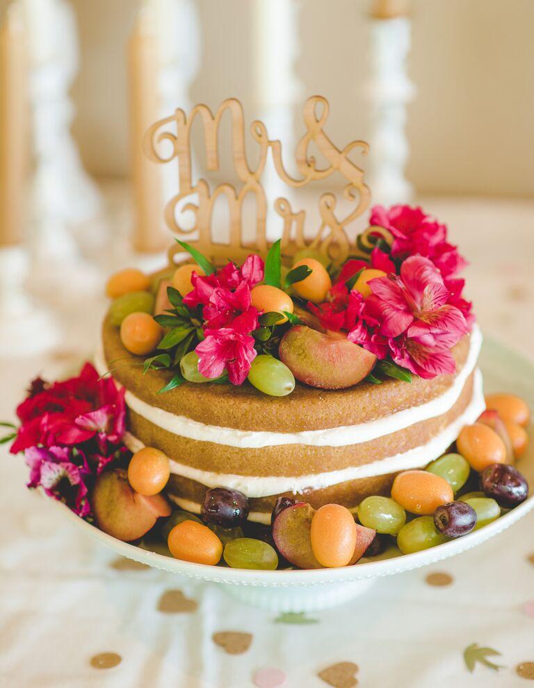 Gateau Base Naked Cake
