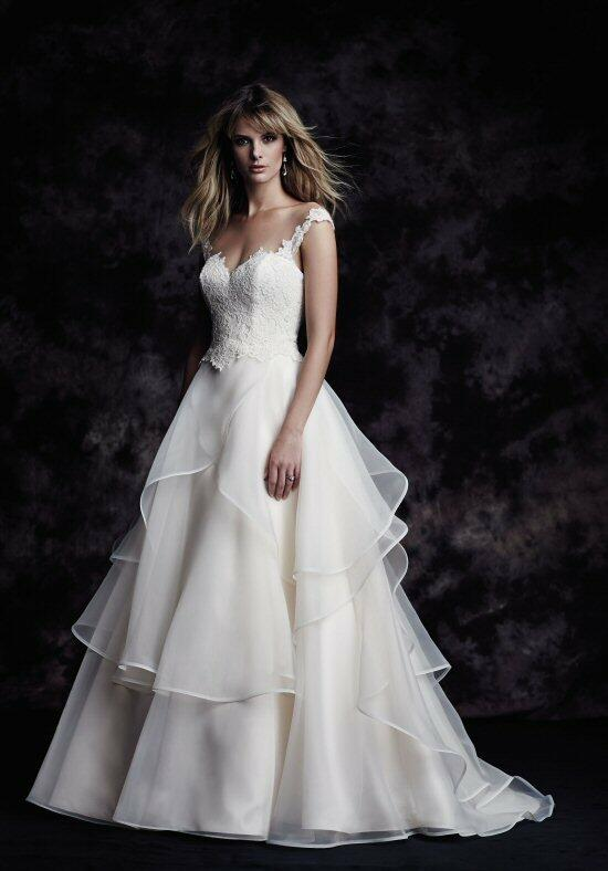 Paloma Blanca 4605 Wedding Dress photo