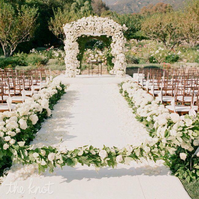Unique Outdoor Wedding Ceremony Ideas: A Sophisticated Wedding In Santa Barbara, CA