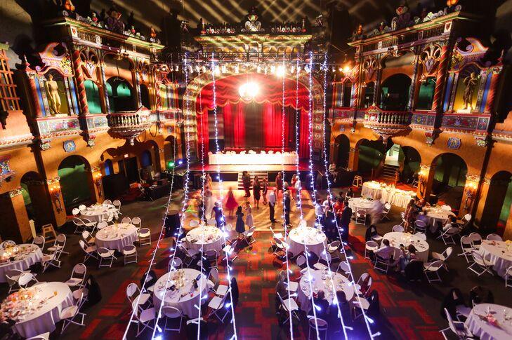 A Hollywood Themed Wedding Reception In Kansas City