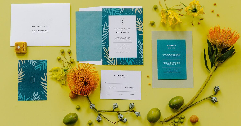 15 2021 wedding invitation  stationery trends