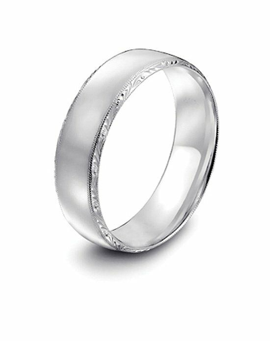 Platinum Engagement and Wedding Ring Must-Haves Tacori Platinum Wedding Band Wedding Ring photo