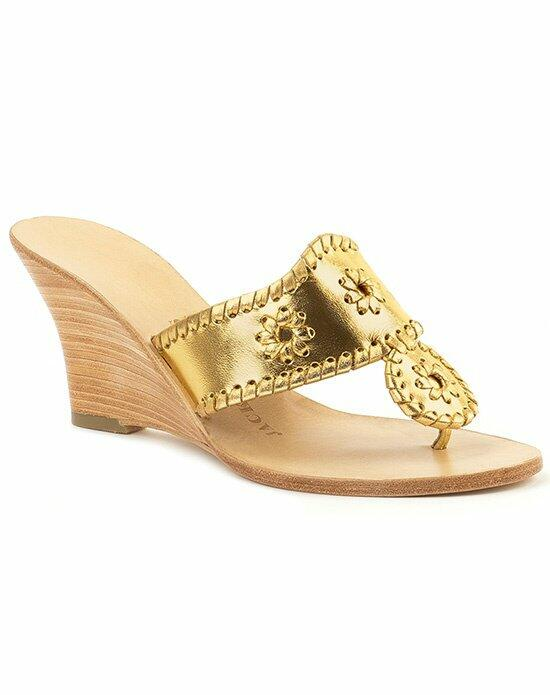 Jack Rogers Hamptons Hi Wedge Wedding Shoes photo