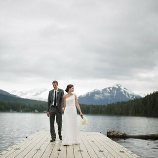 An Intimate Rustic Wedding in Juneau