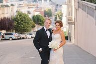 San Francisco–based couple Barbara Legnitto (28 and a CPA) and Craig Hansson (28 and a real estate agent) planned a glamorous summer wedding at the Fa