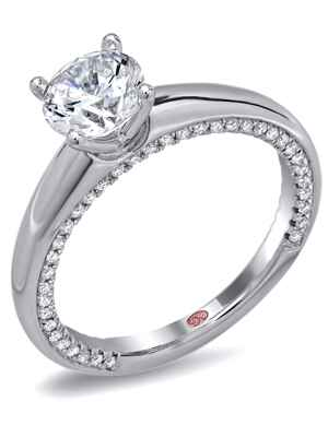 Demarco diamond engagement ring