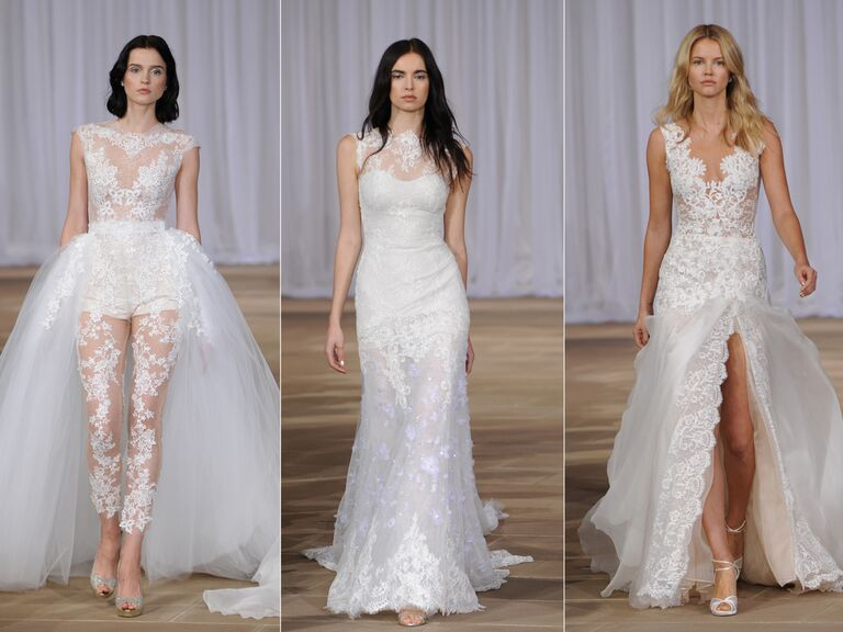 Ines Di Santo Fall Collection Bridal Fashion Week Photos