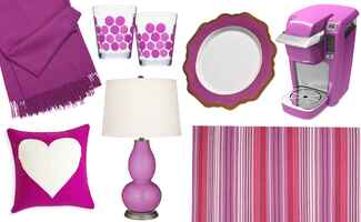radiant orchid / The Knot blog