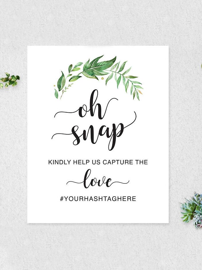 10 printable bridal shower games to diy printable hashtag sign for a bridal shower or wedding solutioingenieria Gallery