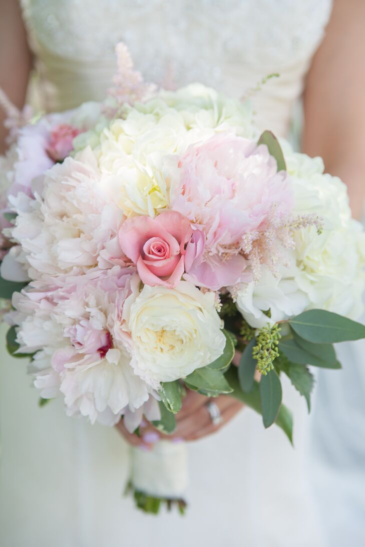 Peonies and Roses Blush Bouquet
