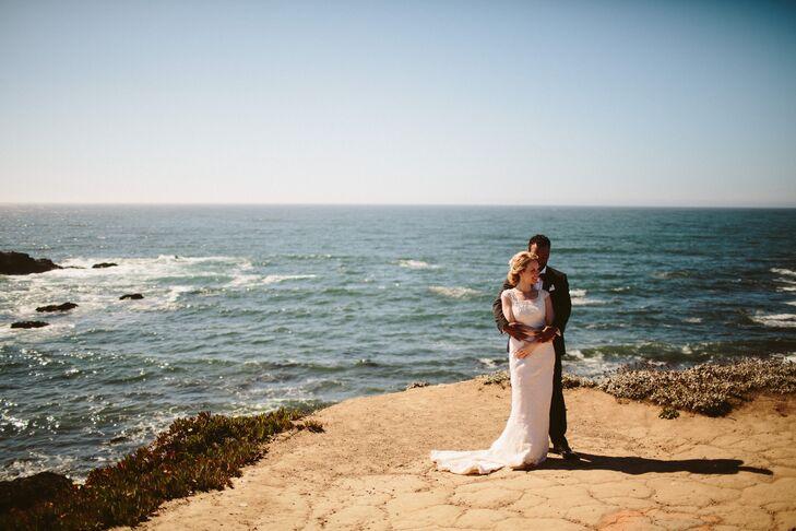 An Intimate Secret Garden Wedding At Comp Rose Gardens In Bodega Bay California