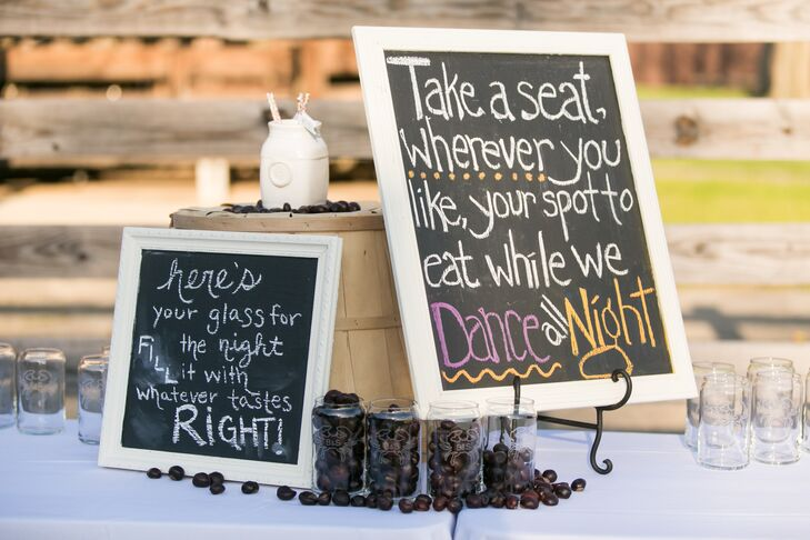 A Rustic Outdoor Barn And Beach Wedding At Jefferson
