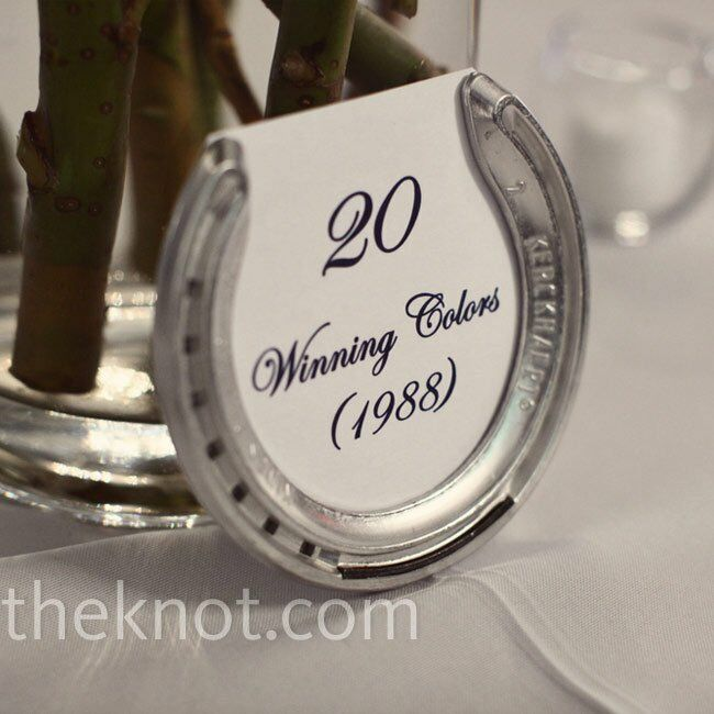 Horse Shoe Table Numbers