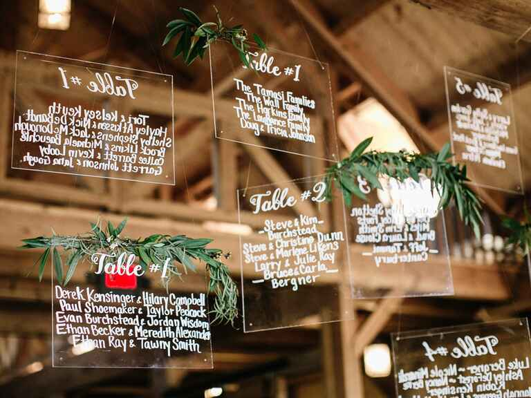 floating escort cards