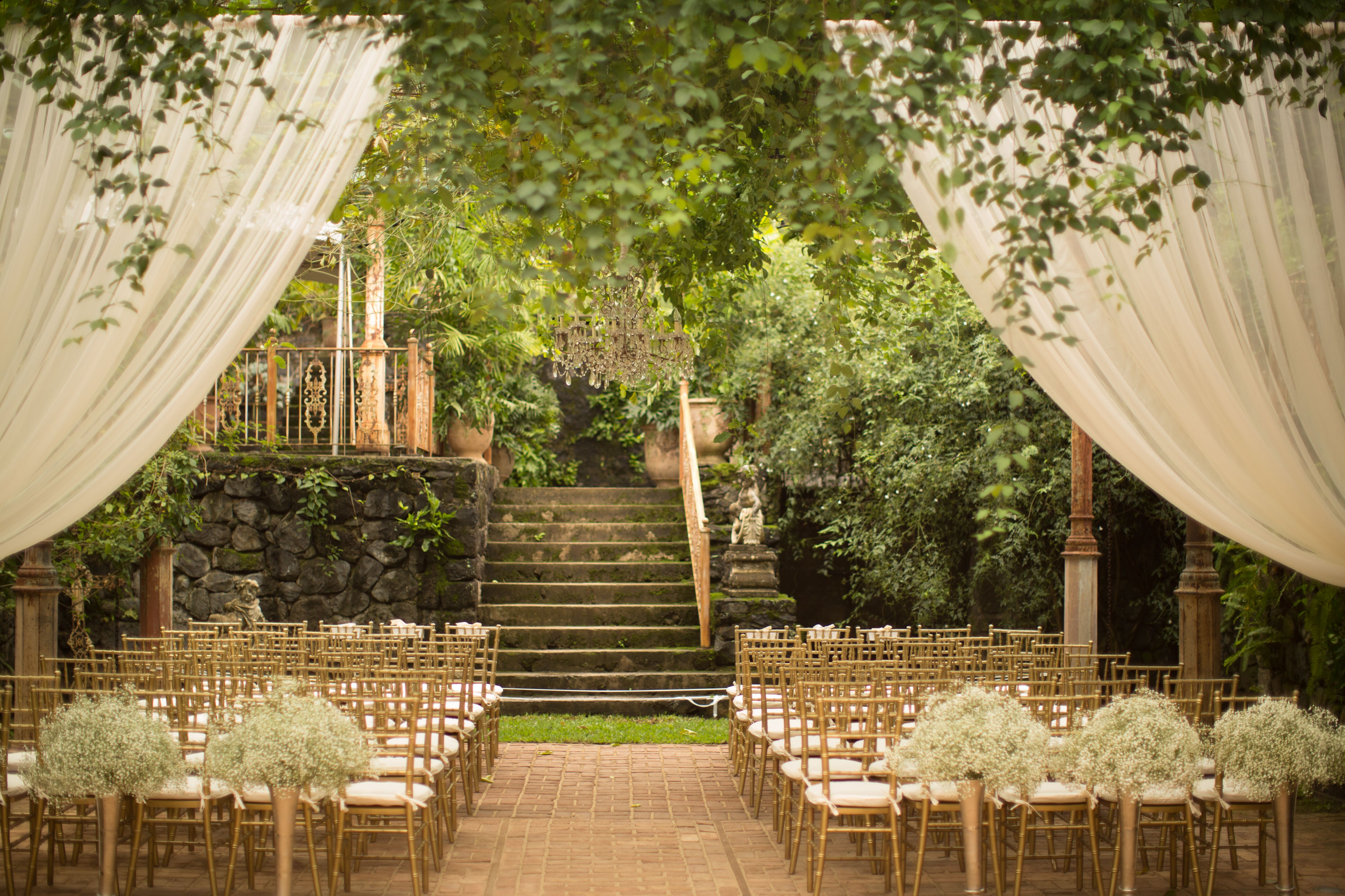 Elegant Ceremony Venue At Haiku Mill
