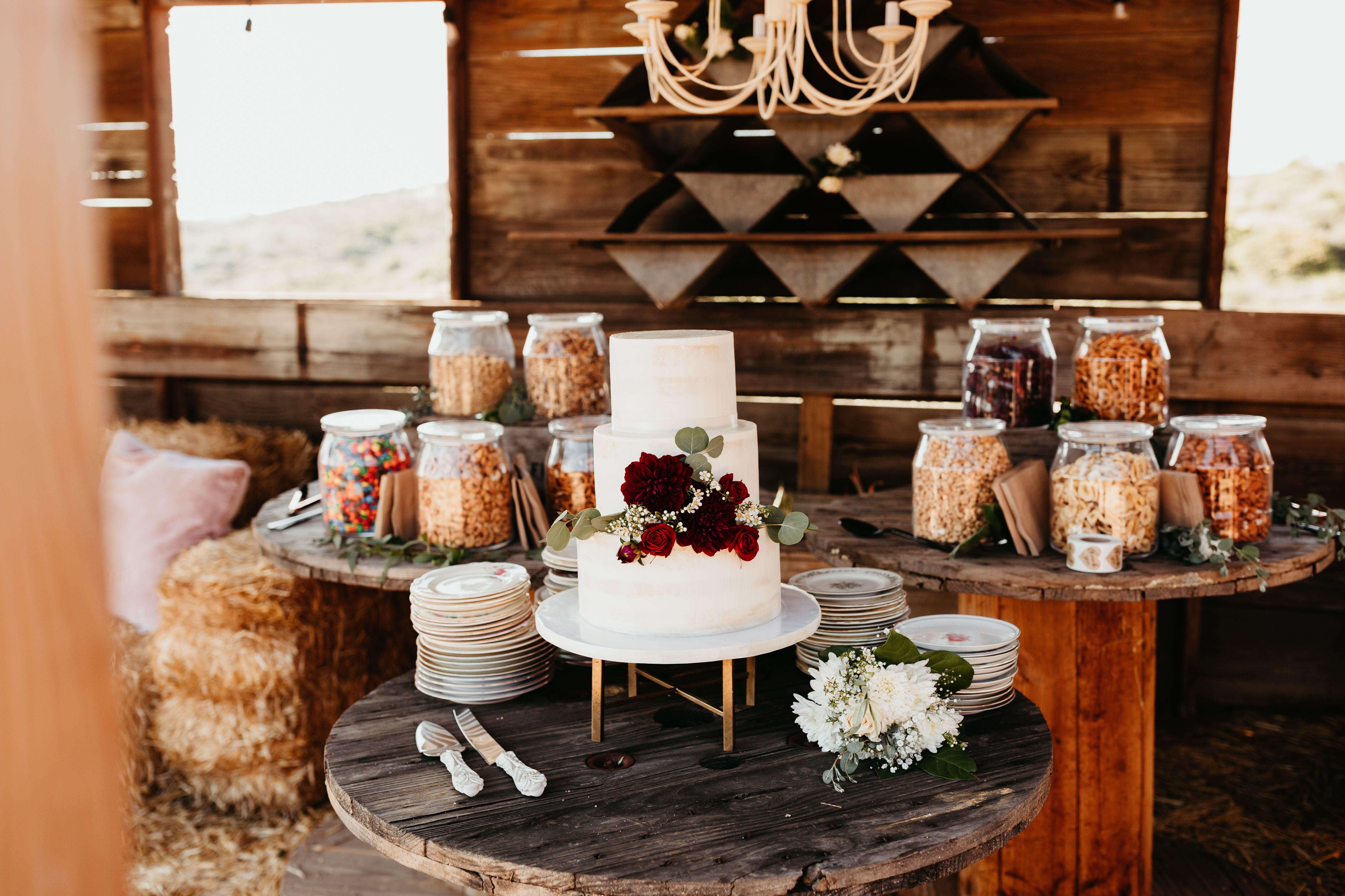Petit Buffet Art Deco bohemian wedding catering + foods