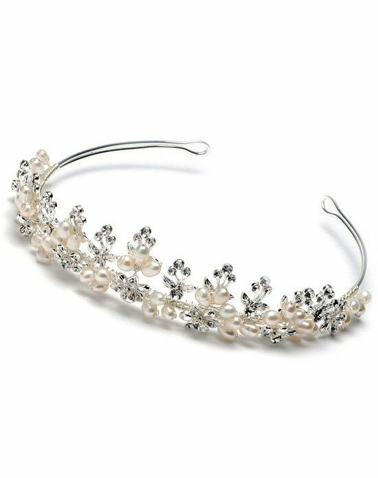 USABride Christina Pearl Crown TI-3095 Wedding Tiaras photo