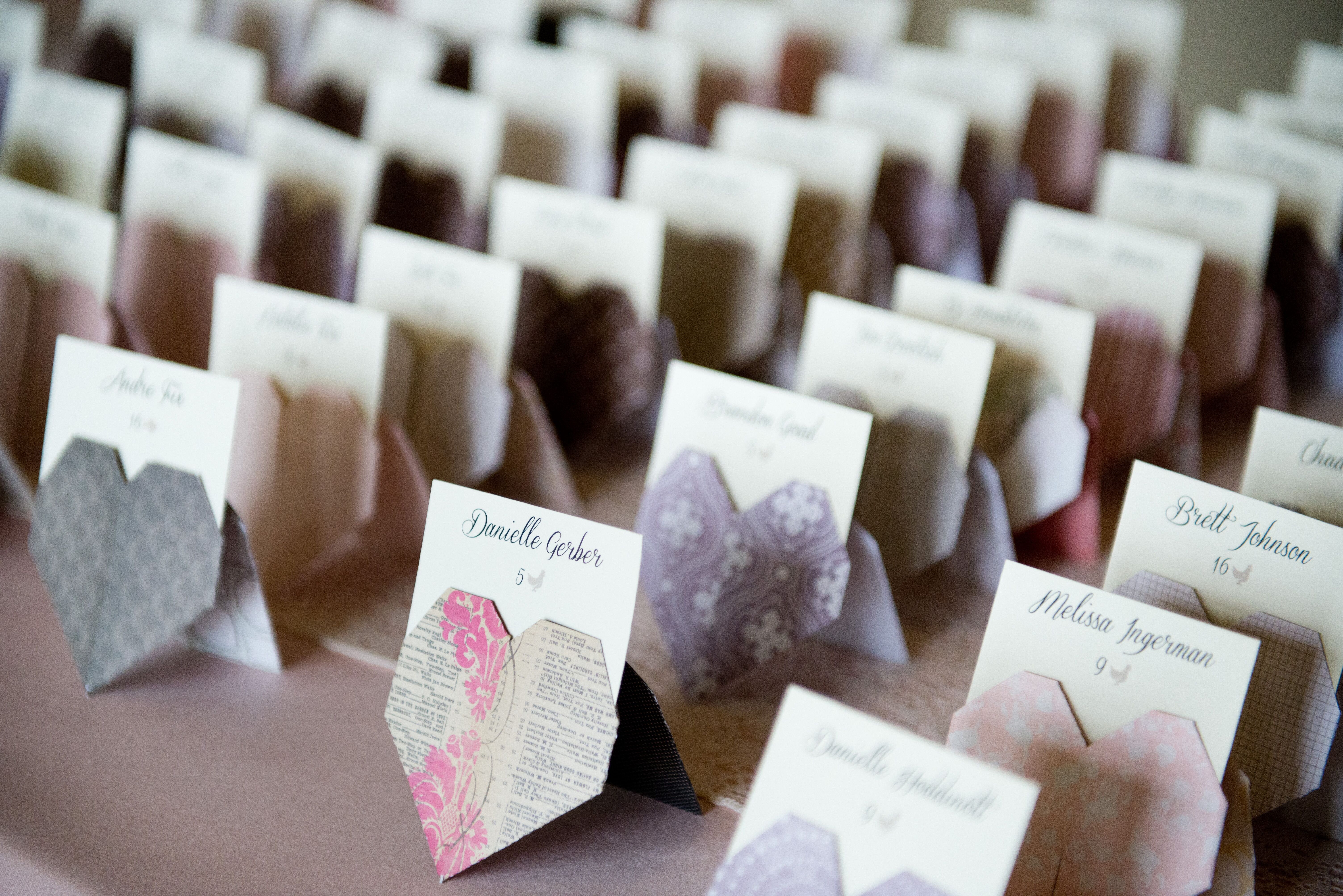 Escort Card Snafus that Drive Your Guests A Little Nuts - Howerton ... | 4016x6016