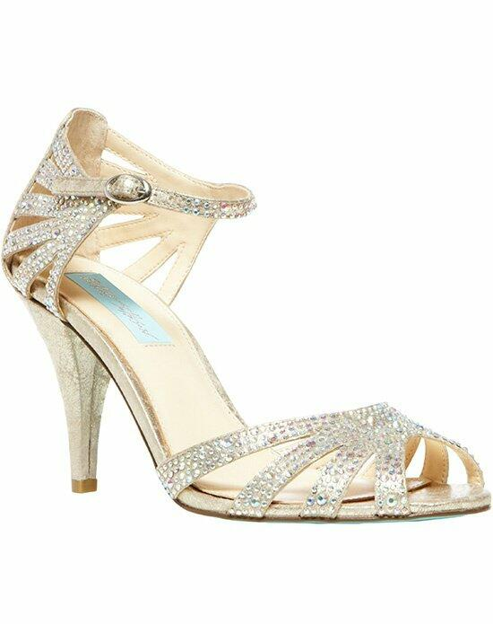 Blue by Betsey Johnson SB-Sweet- Champagne Wedding Shoes photo