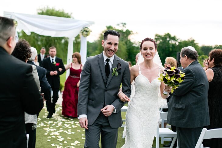 Wedding Recessional at Galloping Hill Golf Course