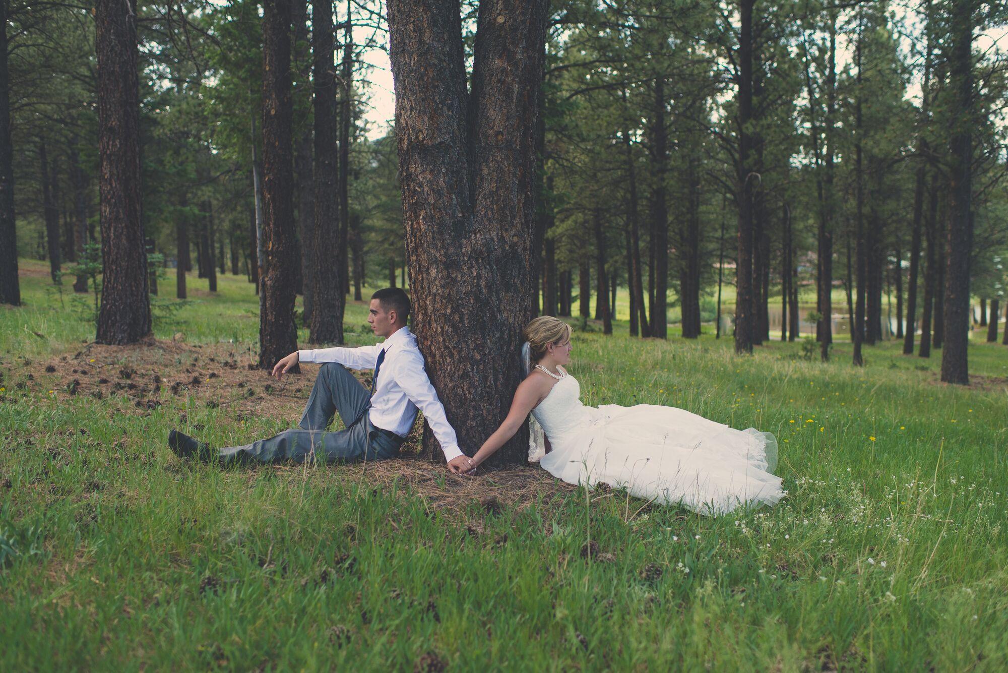 Mexico mountain wedding