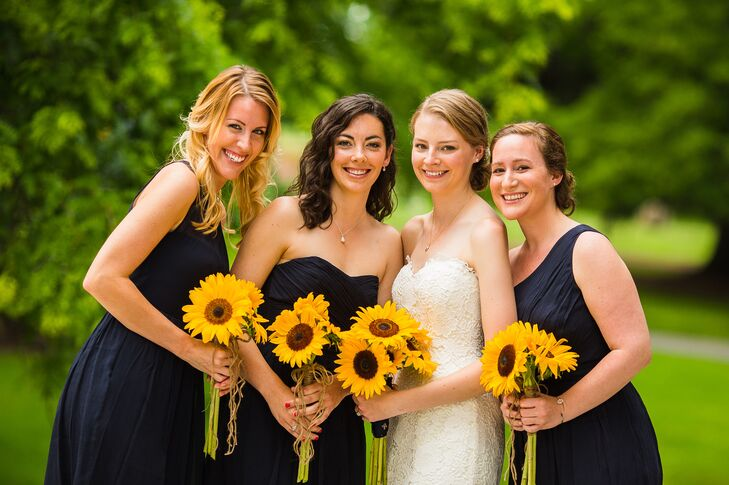 Navy J.Crew Bridesmaid Dresses