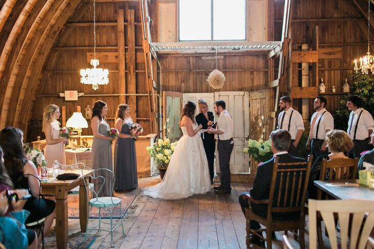 A Rustic Vintage Wedding At Rubies And Rust Barn In Belle