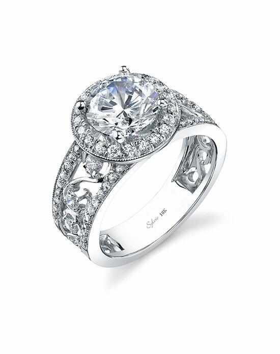 Sylvie Collection SY731 Engagement Ring photo