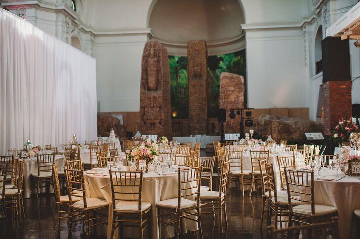 San Diego Museum Of Man Wedding Reception