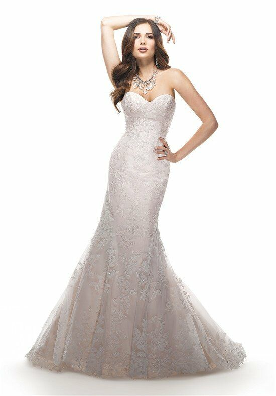Maggie sottero eileen wedding dress the knot for Wedding dresses the knot