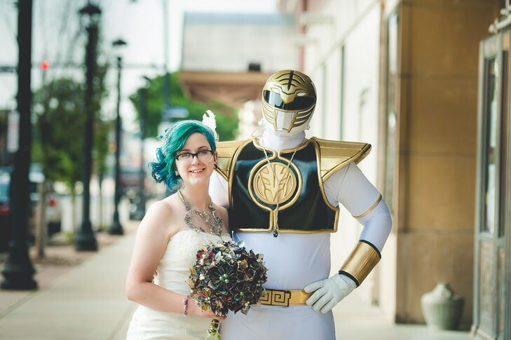 An Earthy Lord of the Rings Inspired Wedding at the Warner Theatre