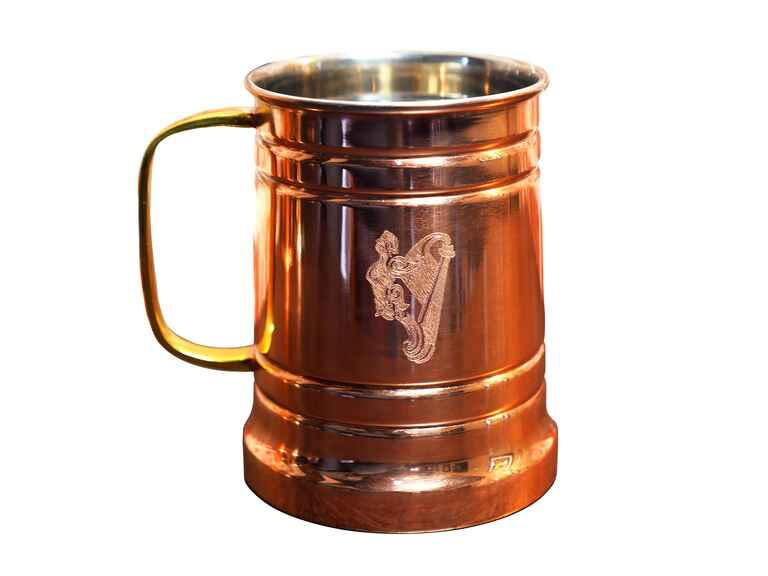 Alchemade's Copper Beer Stein personalized groomsmen gift