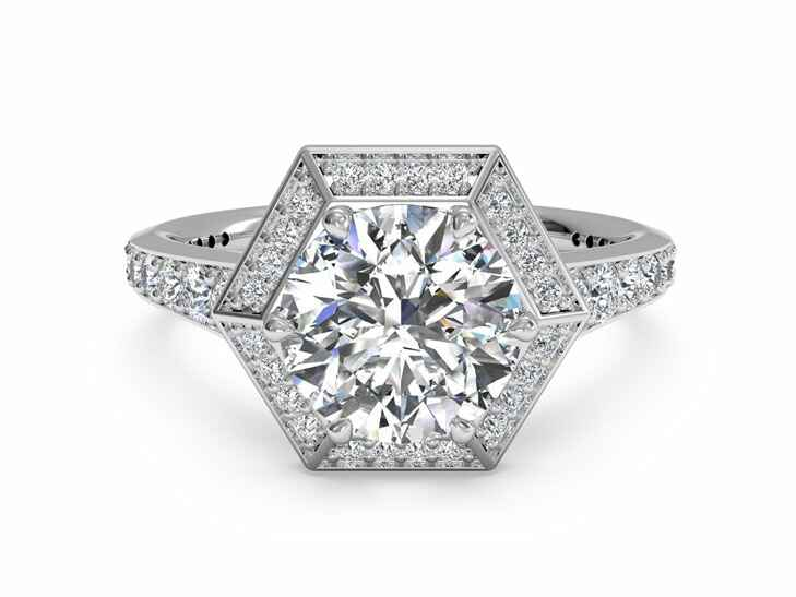 Ritani Vintage Inspired Engagement Ring