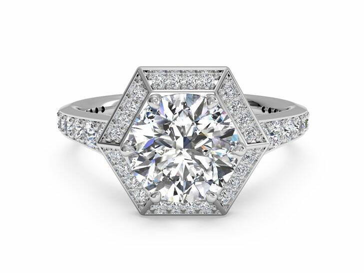 Ritani Vintage Inspired Engagement Ring