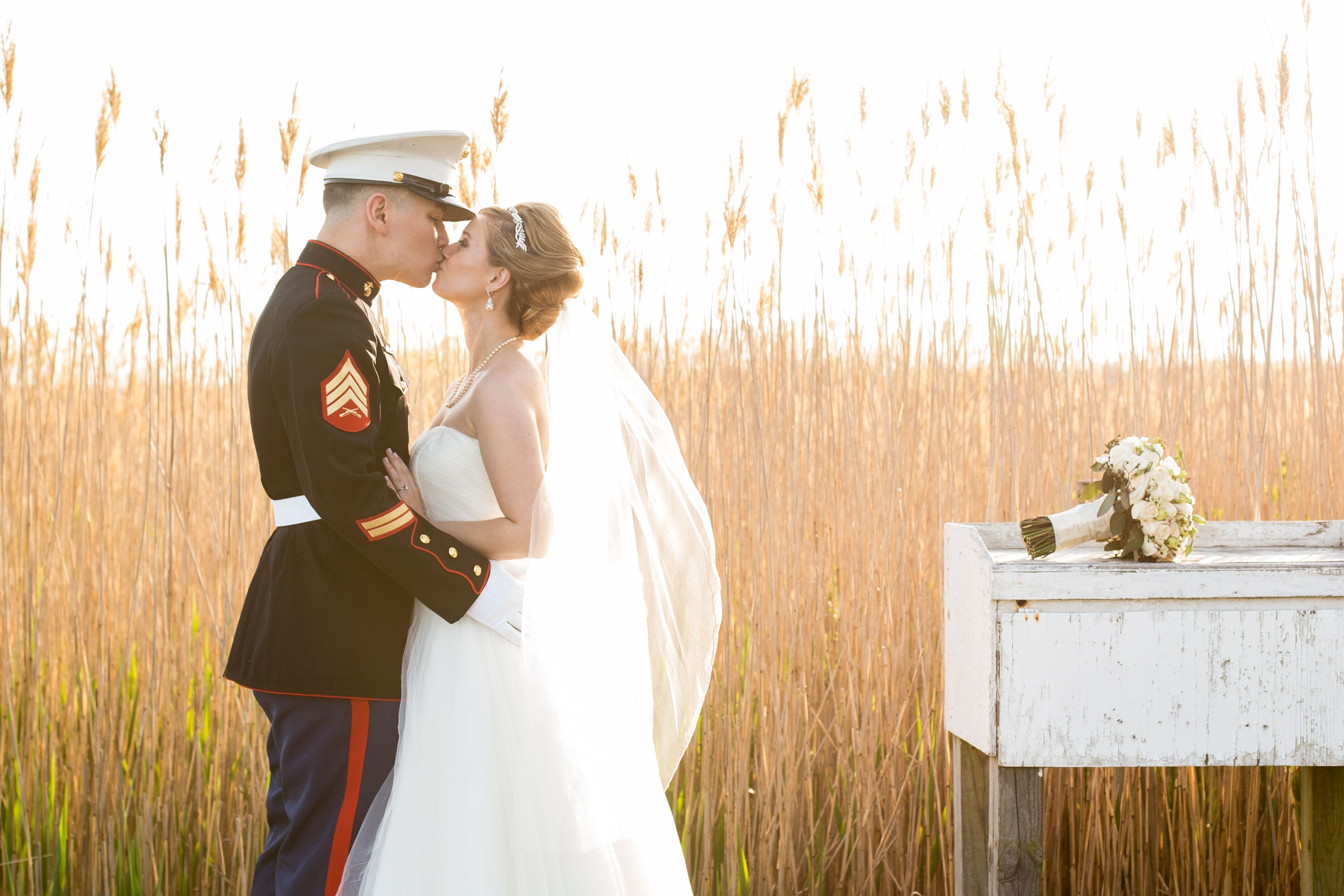 Wedding Gifts For Military Couples: A Vintage Military Wedding At The West Sayville Country