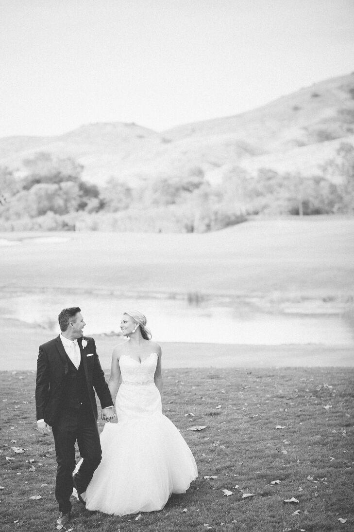 A Romantic Garden Inspired Wedding At Arroyo Trabuco Golf Club In Mission Viejo California