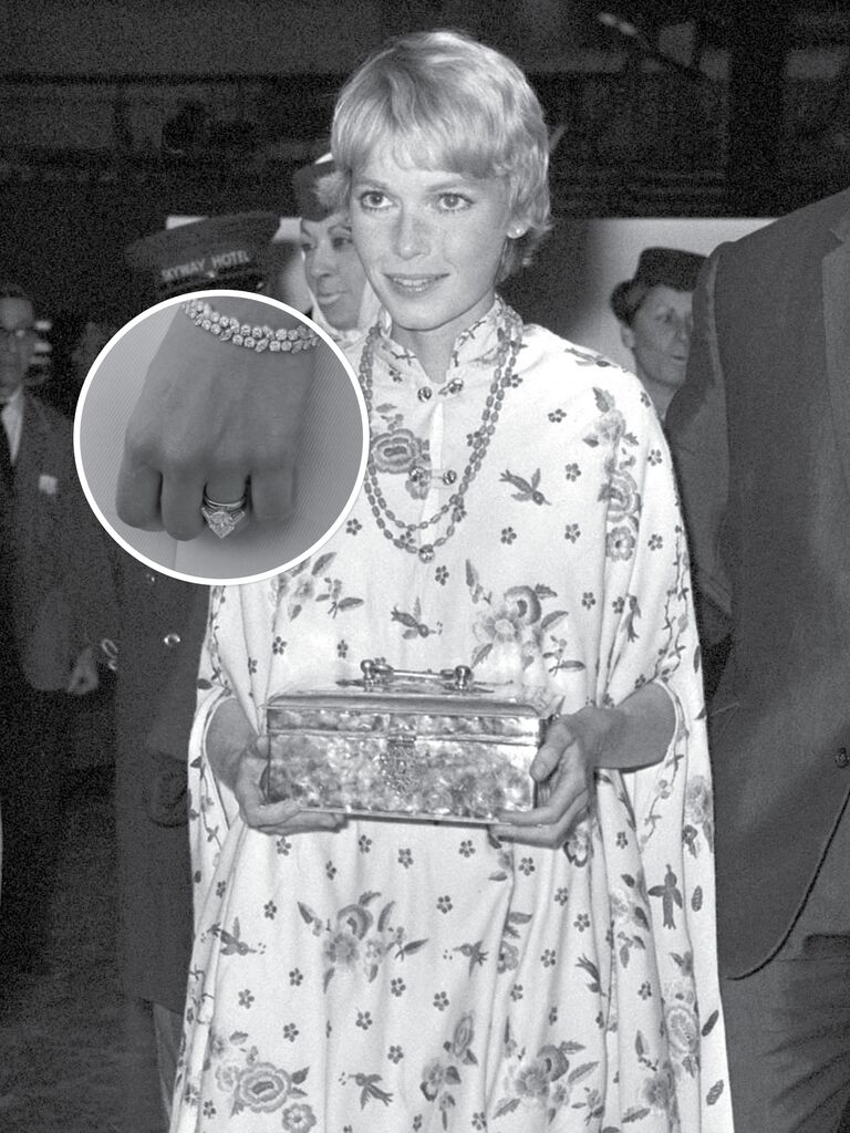 Mia Farrow's Engagement Ring From Frank Sinatra