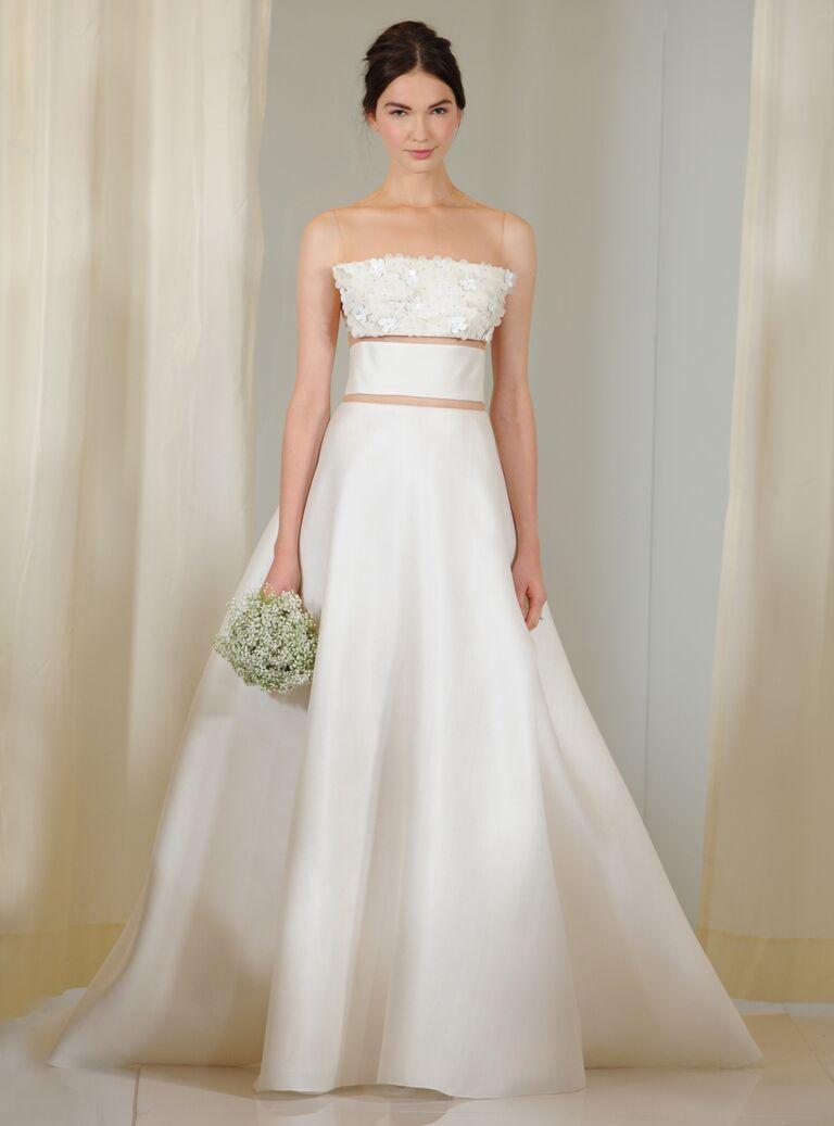 Angel Sanchez Fall Collection Bridal Fashion Week Photos