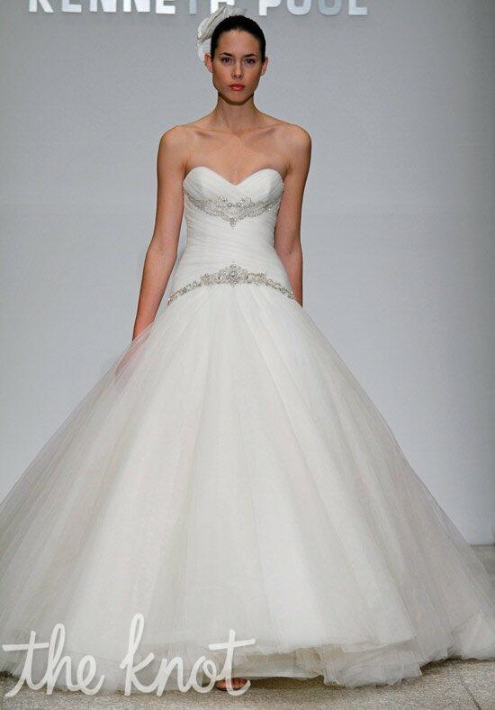 Kenneth Pool Harmony Wedding Dress photo