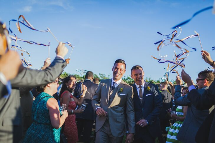 Same-Sex Ceremony Ribbon Recessional