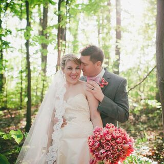 A Romantic Rustic Wedding in Charlotte