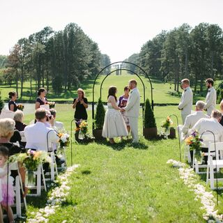 A Quaint Outdoor Wedding in Lincoln