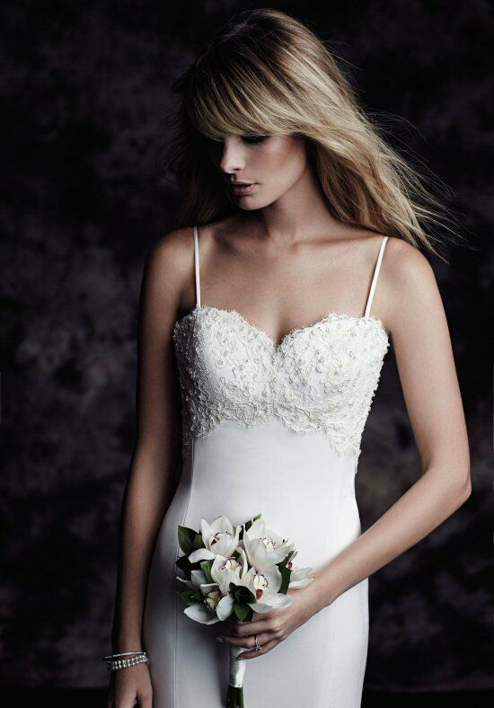 Paloma Blanca 4602 Wedding Dress photo